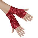 pamučna sa sjajnim šljokicama plesne rukavice za dame više boja (par)