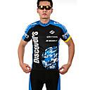 INBIKE® Biciklistička majica s kratkim hlačama Muškarci Kratki rukav Bicikl Prozračnost / Quick dry / Prednji ZipperMajica + kratke hlače