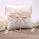elegent satenski jastuk vjenčani prsten s kineskim čvor