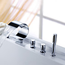 Sprinkle® - 浴槽水栓 ツーハンドル 台付きタイプ シャワーヘッド付