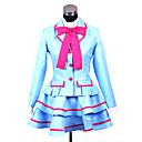 Inspirirana PrettyCure Cosplay Anime Cosplay nošnje Cosplay Suits / School Uniforms Kolaž Plava Dugi rukavKaput / Bluza / Suknja /