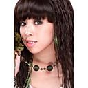 capless kvalitní syntetický dlouho vlnité světle hnědé vlasy, paruky