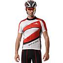 MYSENLAN Kolo/Cyklistika Dres / Vrchní část oděvu Pánské Krátké rukávy Prodyšné / Rychleschnoucí / Přední zip / Nositelný Polyester