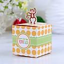 Dárky pro novorozeně Party laskavosti a dárky-12Kusů v sadě Krabice na výslužky Lepenkový papír Krychle Nepřizpůsobeno