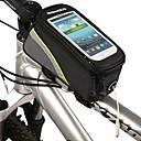 ROSWHEEL® 自転車用バッグ自転車用フレームバッグ 防水 / 防水ファスナー 自転車用バッグ 防水素材 / 布 サイクリングバッグ サイクリング 19.5x9x10.1