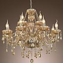 luster kristalno luksuzne suvremene 2 stupu žive 12 svjetla