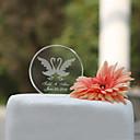 Figurky na svatební dort Přizpůsobeno Klasický pár / Srdce Křišťál Svatba / Párty pro nevěstu Zahradní motiv / Klasický motivDárková