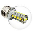 3W E26/E27 LED kulaté žárovky G45 18 SMD 5050 230 lm Přirozená bílá AC 220-240 V