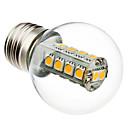 3W E26/E27 LED kulaté žárovky G45 18 SMD 5050 230 lm Teplá bílá AC 220-240 V