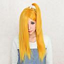 Cosplay Wigs Naruto Deidara Žuta Medium Anime Cosplay Wigs 50 CM Otporna na toplinu vlakna Female