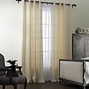 (dvije ploče) moderni poliestera pamuk mješavina čvrste eco-friendly zavjese set
