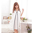 Lady je Casual Cute Long Ice Silk Babydoll Set