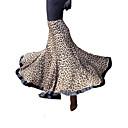 Dancewear Leopard Tiskano viskoze Modern Dance suknju za dame