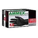 Disposable Black Nitrile Gloves Large Size