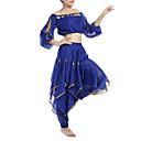 Izvedba Dancewear šifon S rubnih i kovanice trbušni ples odjeće za dame (Više boja)
