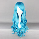 Tirkizno plava 70cm Classic Lolita Curly Wig
