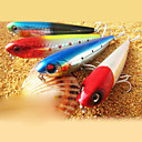 "Hard Bait / Pencil / Fishing Lures Pencil / Hard Bait pcs g / 3/8 oz. Ounce mm / 3-5/16"" inch Black / Yellow / Red / Blue Hard PlasticSea"