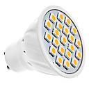 5W GU10 LEDスポットライト MR16 20 SMD 5050 320 lm 温白色 交流220から240 V