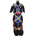 Inspirirana Kingdom Hearts Sora Video igra Cosplay nošnje Cosplay Suits Kolaž Crna Kratki rukavKaput / Maja / Hlače / Kravata / Ogrlice /
