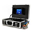 記録を持つ水中カメラ防犯カメラのモニター(50メートルケーブル海底探査)
