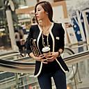 Černé ženy úsměv ženský Fit Suit