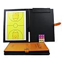 Sport Vnitřní magnetický skládací Basketbal Koučování Board (2Pens + Board + Eraser magnety)
