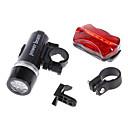 LED svjetiljke / Prednje svjetlo za bicikl / Stražnje svjetlo za bicikl LED Biciklizam Vodootporno / alarm AAA 100 Lumena Baterija