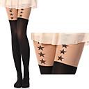 Sekvencijalni Zvijezde Crna Sweet Lolita čarape