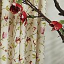 twopages® (dva panely) země květ na stonku tiskovém Eco Friendly opony