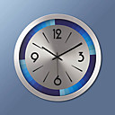 """17 """"H Moderní kovové Nástěnné hodiny"""