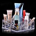 Kutija za šminku Plastična kutija / Kutija za šminku Akril Jednobojni 13.5 x 13.5 x 7.0