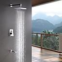 Sprinkle®シャワー水栓  ,  コンテンポラリー  with  クロム シングルレバー 三つ  ,  特徴  for 壁式