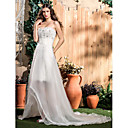 Lanting Bride® Kroj uz tijelo Sitna / Veći brojevi Vjenčanica - Klasično i svevremensko / Glamurozno i izražajno Vjenčanice 2 u 1Do