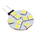 daiwl G4 2W 9x5050smd 100-150lm 5500-6500k kul bijelo svjetlo LED spot žarulja (12V)