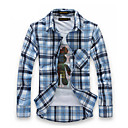MEIKEPAIM Provjerite Besplatno peglanja Shirt