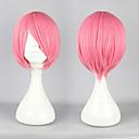 Cosplay Wigs Vocaloid Megurine Luka Roza Short Anime / Video Igre Cosplay Wigs 30 CM Otporna na toplinu vlakna Female