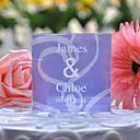 Figurky na svatební dort Přizpůsobeno Křišťál Svatba / Výročí Lila Květinový motiv / Klasický motiv Dárková krabička