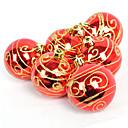 "2.5 ""Zlatni I Red Christmas ornament Ball (6 kom Set)"