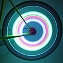 自転車用ライト / ホイールライト / パルブキャップフラッシングライト LED サイクリング 防水 ルーメン バッテリー サイクリング-照明