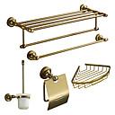 Vana Sada příslušenství, Antique 5 ks Gold Eloxování Hliník Hardware Set