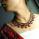 Ženska Tibetanski originalna kristalna Bohemia ogrlica