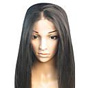 18inch Straight Střední část Brazilský Remy vlasy plné krajky paruka