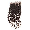 """12 """"100% ljudske kose Kinky Kovrčava Prirodna crna kosa komad"""