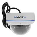 720pのミニ1/4インチCMOSドームIPカメラ(赤外線15メートル、ONVIF、モーション探偵)、P2P