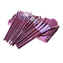 MEGAGA Purple PU Case 18Pcs Kozmetički Brush Set