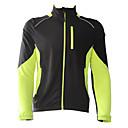JAGGAD® Cyklo bunda Pánské Dlouhé rukávy Jezdit na koleProdyšné / Zahřívací / Větruvzdorné / Zateplená podšívka / Nositelný / Reflexní
