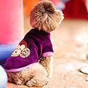 Madden Warm majmun Uzorak Pas Odjeća (Purple)
