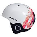 MOON® Helma Unisex Snow Sport přilba Ultra lehký (UL) / Sportovní Sportovní přilba Bílá / Červená Sníh přilba EPS / PVCSnowboard / Zimní