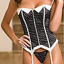 satén plast vykostění korzet shapewear sexy spodní prádlo shaper