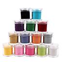 1kom Velvet Nail Art Ukrasna prahu (Izabrane boje)
